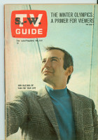 1968 TV Guide Feb 3 Ben Gazzara Scranton-Wilkes Barre edition Excellent - No Mailing Label  [Toning on cover, contents fine]