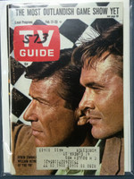 1968 TV Guide Feb 17 Efram Zimbalist Eastern New England edition Excellent  [Minor split on binding; scuffing on cover; # WRT on cover logo, contents fine]