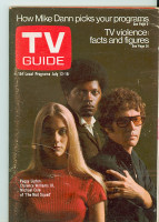 1969 TV Guide Jul 12 Mod Squad Georgia edition Excellent - No Mailing Label  [Lt wear, scuffing on cover; contents fine]