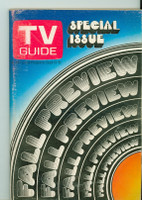 1969 TV Guide Sep 13 Fall Preview Northern Illinois edition Very Good  [Sl loose at staples; lt wear on cover, contents fine]