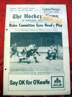 The Hockey News November 18, 1961 Excellent to Mint