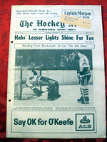 The Hockey News Decemeber 16, 1961 Excellent to Mint
