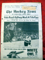The Hockey News January 6, 1962 Excellent to Mint