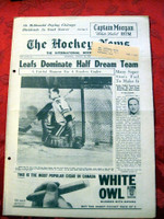 The Hockey News January 20, 1962 Excellent to Mint
