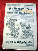 The Hockey News March 10, 1962 Excellent to Mint