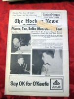 The Hockey News April 7, 1962 Excellent to Mint