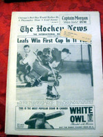 The Hockey News April 28, 1962 Excellent to Mint