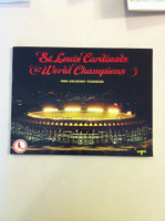 1968 Cardinals Yearbook (from the Red Schoendienst collection) Excellent to Mint