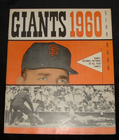 1960 Giants Yearbook Excellent to Mint
