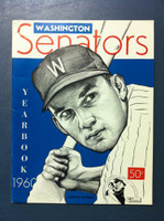 1960 Senators Yearbook (50 pg) Harmon Killebrew Cover Near-Mint Very sl ding on both covers, ow like new