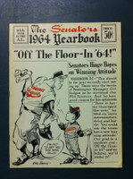 1964 Senators Yearbook (50 pg) Excellent to Mint Very sl bend on upper corner, ow like new
