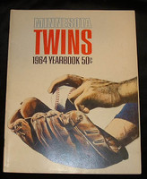 1964 Twins Yearbook Near-Mint
