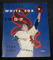 1957 White Sox Yearbook Excellent