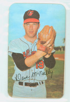 1971 Topps Baseball Supers 18 Dave McNally Baltimore Orioles Excellent to Mint