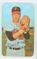 1971 Topps Baseball Supers 18 Dave McNally Baltimore Orioles Near-Mint