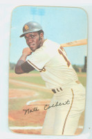 1971 Topps Baseball Supers 22 Nate Colbert San Diego Padres Good to Very Good