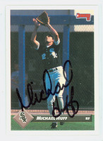 Mike Huff AUTOGRAPH 1993 Donruss White Sox 