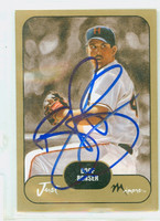 Boof Bonser AUTOGRAPH 2002 Just Giants Affiliate 