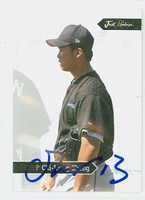 Chi-Hung Cheng AUTOGRAPH 2006 Just Blue Jays affiliate 