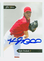 Kyle Drabek AUTOGRAPH 2006 Just Phillies 