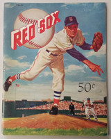 1959 Red Sox Yearbook Very Good to Excellent Lt scuffing, scrathes on cover, Name WRT in ink; ow clean