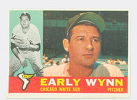1960 Topps Baseball 1 Early Wynn Chicago White Sox Very Good