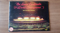 1968 Cardinals Yearbook Excellent [Light scuffing, overall very clean]