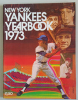 1973 Yankees Yearbook - Ruth, Gehrig, DiMaggio, Mantle Excellent to Mint Lt wear on cover, ow very clean