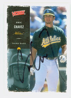 Eric Chavez AUTOGRAPH 2000 Upper Deck Victory Athletics   [SKU:ChavE11184_UPVICT00]