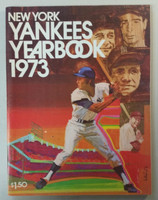 1973 Yankees Yearbook - Ruth, Gehrig, DiMaggio, Mantle (70 pgs) Near-Mint to Mint Very lt wear on cover, ow very clean