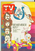 1972 TV Guide Jan 1 Remember 1971 Missouri edition Excellent - No Mailing Label  [Lt wear on cover, ow clean]