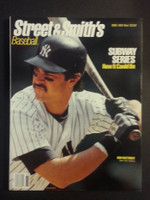 1988 Street and Smith BB Yearbook Don Mattingly Near-Mint to Mint