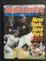 2001 Street and Smith BB Yearbook Derek Jeter Near-Mint to Mint