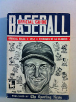 1952 TSN Official Baseball Guide - Stan Musial cover Very Good [Wear on cover, spine, pencil Mark on cover; contents fine]