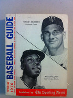1970 TSN Official Baseball Guide (642 pg) - Cover: Willie McCovey, Harmon Killebrew Excellent [Very sl cover wear, contents great]