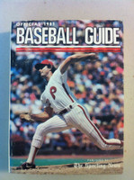 1981 TSN Official Baseball Guide (610 pg) - Cover: Steve Carlton Very Good to Excellent [Lt wear, crease on cover, contents great]
