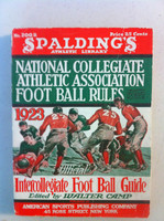 1923 Official NCAA Football Guide (309 pg) Very Good [Crease on cover, spine and contents fine]
