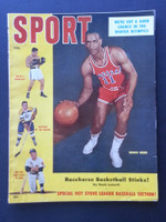 1956 Sport Magazine February Sihogo Green Duquesne (Mickey Mantle story) Very Good to Excellent