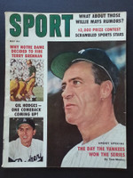1959 Sport Magazine May Hank Bauer - Gil Hodges Very Good