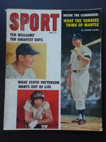 1959 Sport Magazine June Mickey Mantle - Ted Williams Good to Very Good