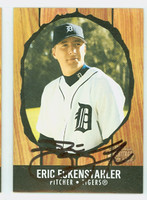 Eric Eckenstahler AUTOGRAPH 2003 Bowman Heritage 1958 Hires Design Tigers 