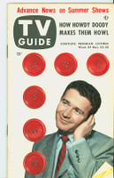 1953 TV Guide May 22 Red Buttons Chicago edition Very Good to Excellent  [Bottom corner has bend throughout book; ow clean EX, label on reverse]