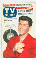1953 TV Guide Jun 12 Eddie Fisher Philadelphia edition Excellent - No Mailing Label  [Lt scuffing and wear on cover, ow clean]