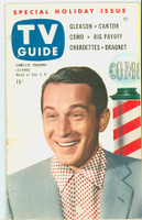 1953 TV Guide Jul 3 Perry Como Detroit edition Excellent  [Very lt wear and toning on cover, ow very clean; label on reverse]