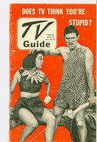 1951 TV Guide November 30 Does TV Think You're Stupid (32 pgs) NY Metro edition Good to Very Good  [Wear on both covers and binding, contents fine]