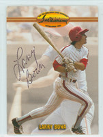 Larry Bowa AUTOGRAPH Ted Williams Phillies   [SKU:BowaL432_TEDWi2]