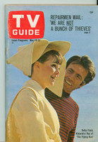 1968 TV Guide Mar 16 Sally Field of the Flying Nun Iowa edition Excellent - No Mailing Label  [Lt wear on cover, ow clean]