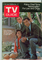 1969 TV Guide Nov 1 Room 222 Eastern Illinois edition Excellent - No Mailing Label  [Lt wear on cover, ow clean]