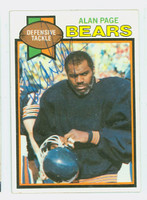 Alan Page AUTOGRAPH 1979 Topps Football #15 Bears HOF '88 CARD IS CLEAN EX  [SKU:PageA51300_T79FB]