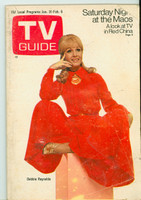 1970 TV Guide Jan 31 Debbie Reynolds Montana edition Very Good - No Mailing Label  [Heavy scuffing and creasing on cover, contents fine]